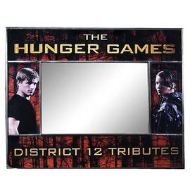 The Hunger Games - Movie District 12 Frame and Mirror
