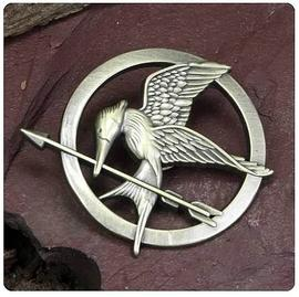 The Hunger Games - Movie Mockingjay Prop Replica Pin
