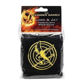 The Hunger Games - Movie Logo and Mockingjay Wristband