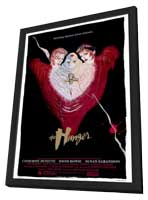 The Hunger - 27 x 40 Movie Poster - Style A - in Deluxe Wood Frame