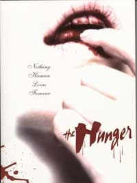 The Hunger - 27 x 40 Movie Poster - Style B