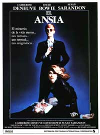 The Hunger - 27 x 40 Movie Poster - Spanish Style A