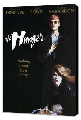 The Hunger - 27 x 40 Movie Poster - Style C - Museum Wrapped Canvas
