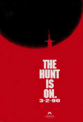 The Hunt for Red October - 11 x 17 Movie Poster - Style B