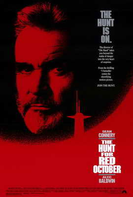 The Hunt for Red October - 27 x 40 Movie Poster - Style A