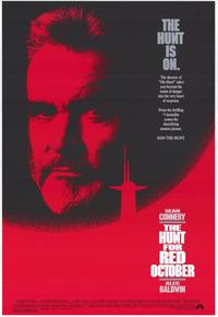The Hunt for Red October - 43 x 62 Movie Poster - Bus Shelter Style A
