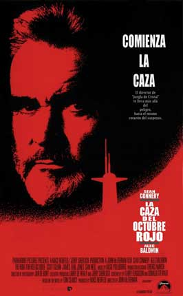 The Hunt for Red October - 11 x 17 Movie Poster - Spanish Style B