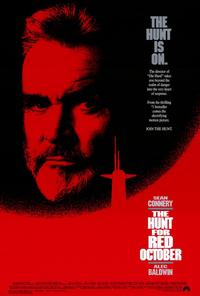 The Hunt for Red October - 11 x 17 Movie Poster - Style A - Museum Wrapped Canvas