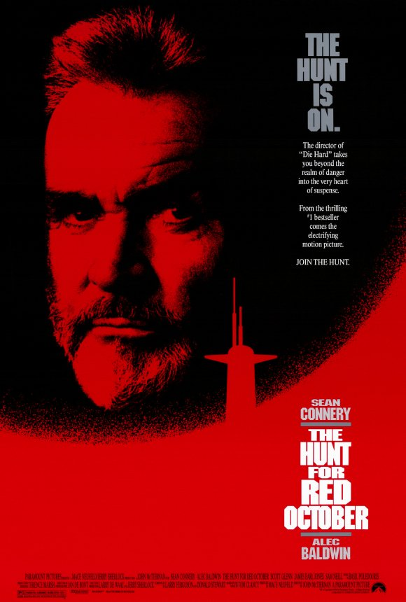 the hunt for red october movie posters from movie poster shop