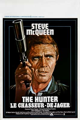 The Hunter - 27 x 40 Movie Poster - Belgian Style A