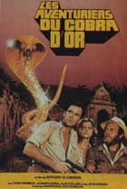 The Hunters of the Golden Cobra - 11 x 17 Movie Poster - French Style B