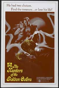 The Hunters of the Golden Cobra - 11 x 17 Movie Poster - Style A