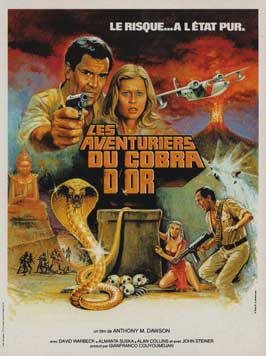 The Hunters of the Golden Cobra - 11 x 17 Movie Poster - French Style A