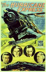 The Hurricane Express - 11 x 17 Movie Poster - Style B