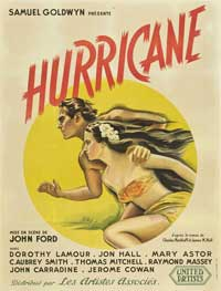 The Hurricane - 27 x 40 Movie Poster - French Style A