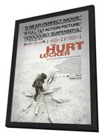 Hurt Locker, The - 11 x 17 Movie Poster - Style C - in Deluxe Wood Frame