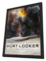 Hurt Locker, The - 27 x 40 Movie Poster - Style B - in Deluxe Wood Frame