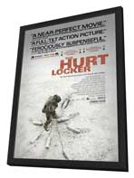 Hurt Locker, The - 27 x 40 Movie Poster - Style C - in Deluxe Wood Frame