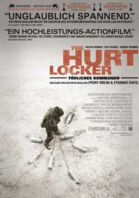 Hurt Locker, The - 11 x 17 Movie Poster - Swiss Style A