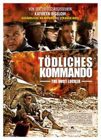 Hurt Locker, The - 11 x 17 Movie Poster - German Style A