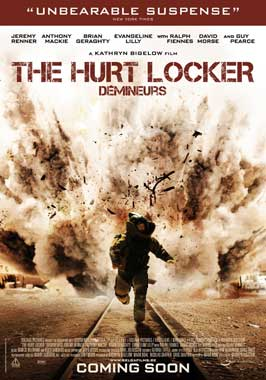 Hurt Locker, The - 27 x 40 Movie Poster - Belgian Style A
