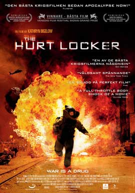 Hurt Locker, The - 11 x 17 Movie Poster - Swedish Style A