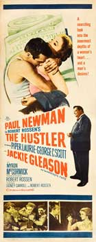 The Hustler - 14 x 36 Movie Poster - Insert Style A