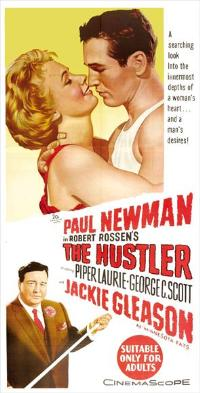 The Hustler - 13 x 30 Movie Poster - Australian Style A