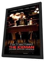 The Iceman - 11 x 17 Movie Poster - Style A - in Deluxe Wood Frame
