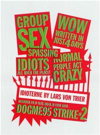 The Idiots - 11 x 17 Poster - Foreign - Style A