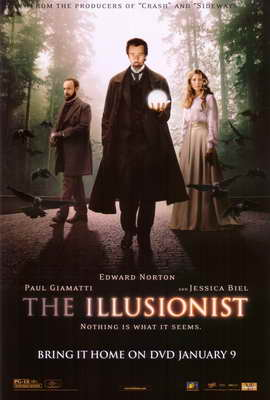 The Illusionist - 11 x 17 Movie Poster - Style B