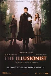 The Illusionist - 43 x 62 Movie Poster - Bus Shelter Style B