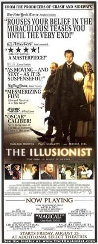 The Illusionist - 14 x 36 Movie Poster - Insert Style A