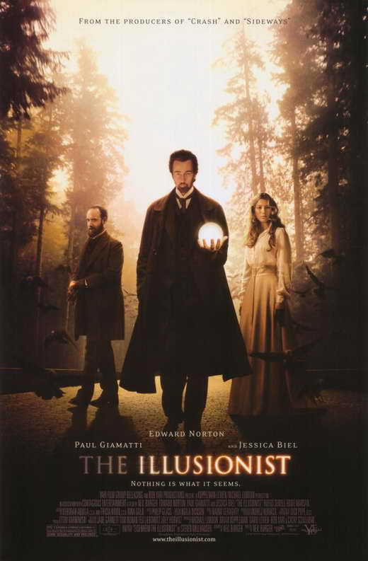 The Illusionist Movie Posters From Movie Poster Shop