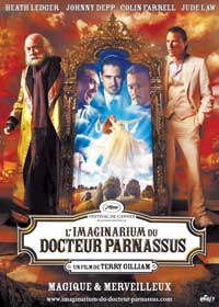 The Imaginarium of Doctor Parnassus - 11 x 17 Movie Poster - Swiss Style A