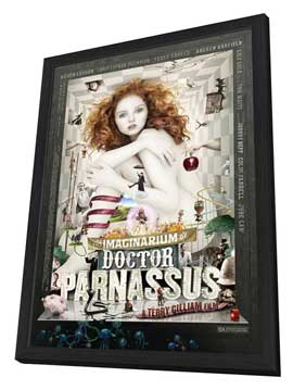 The Imaginarium of Doctor Parnassus - 11 x 17 Movie Poster - UK Style A - in Deluxe Wood Frame
