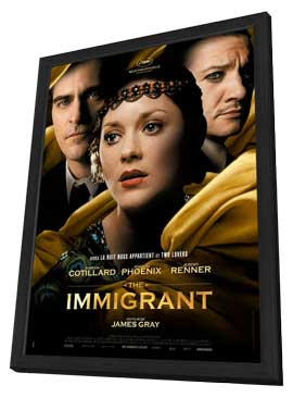 The Immigrant - 11 x 17 Movie Poster - French Style A - in Deluxe Wood Frame