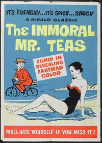 The Immoral Mr. Teas - 43 x 62 Movie Poster - Bus Shelter Style C