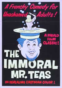 The Immoral Mr. Teas - 27 x 40 Movie Poster - Style D