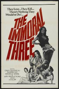 The Immoral Three - 27 x 40 Movie Poster - Style A