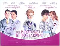 The Importance of Being Earnest - 27 x 40 Movie Poster - Foreign - Style A