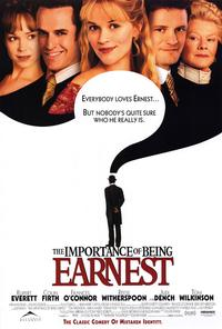 The Importance of Being Earnest - 27 x 40 Movie Poster - Style B