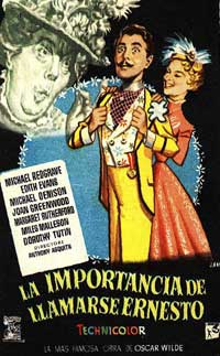 The Importance of Being Earnest - 11 x 17 Movie Poster - French Style A