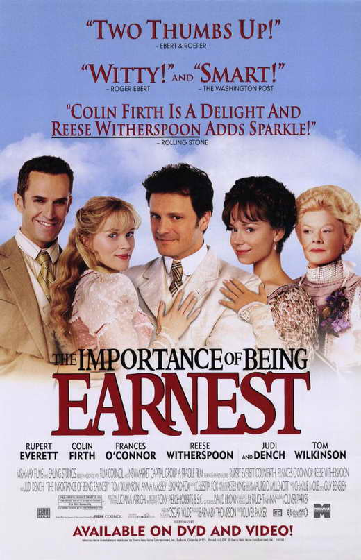 Movie importance of being ernest