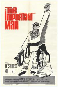 The Important Man - 27 x 40 Movie Poster - Style A