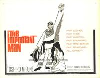The Important Man - 27 x 40 Movie Poster - Style B