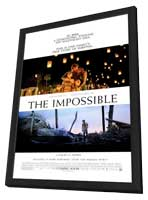 The Impossible - 11 x 17 Movie Poster - Style B - in Deluxe Wood Frame