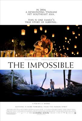The Impossible - 27 x 40 Movie Poster - Style B