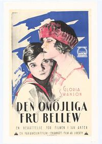 The Impossible Mrs. Bellew - 11 x 17 Movie Poster - Swedish Style B