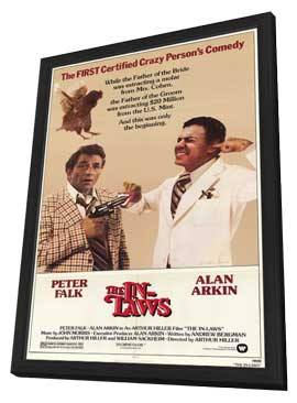 The In-Laws - 11 x 17 Movie Poster - Style A - in Deluxe Wood Frame